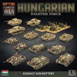 Hungarian Starter Force: Zrinyi Assault Gun Battery (Plastic)