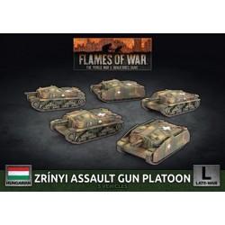 Zrinyi Assault Gun (x5 Plastic)