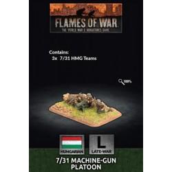 7/31 MG Platoon (x3)