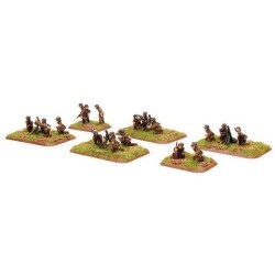 81mm and 120mm Mortar Platoons (x8)
