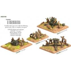 Anti-tank Gun and AA Crew (x30 Figs)