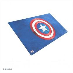 Marvel Champions Game Mat Captain America