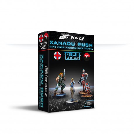 Dire Foes Mission Pack Gamma : Xanadu Rush