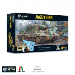 Jagdtiger Plastic Tank