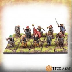 Halfling Goat Rider Warriors