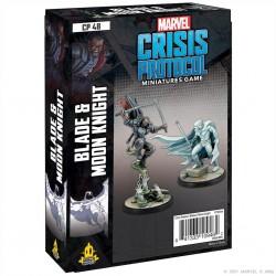 Crisis Protocol: Blade & Moon Knight (Inglés)