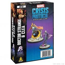 Crisis Protocol: Doctor Srange & Clea (Inglés)