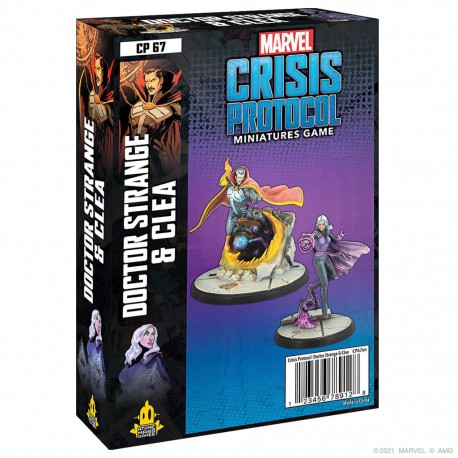 Crisis Protocol: Doctor Srange & Clea (English)