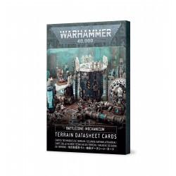 Battlezone Mechanicum: Terrain Cards (Spanish)