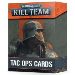 Kill Team: Cartas De Operaciones Tácticas  (Spanish)