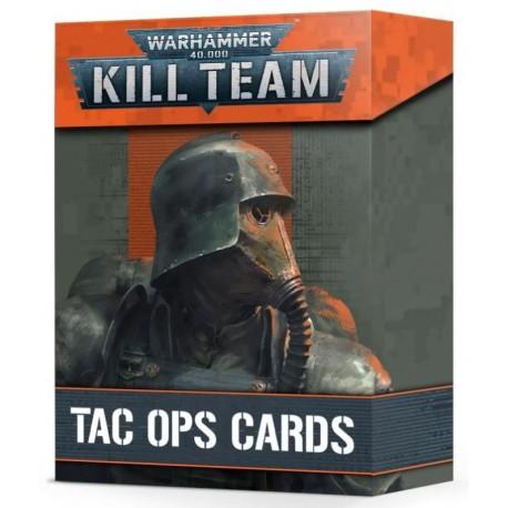 Kill Team: Tac Ops Cards (Inglés)
