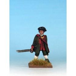 Colonial Militia Leader