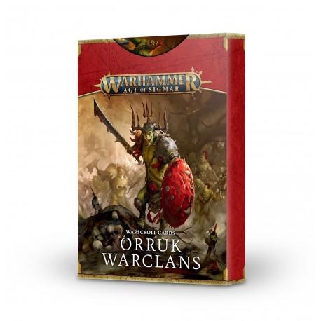 Warscroll Cards: Orruk Warclans (Castellano)