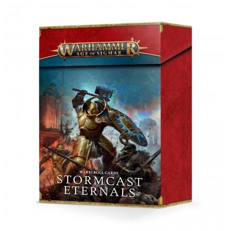 Warscroll Cards: Stormcast Eternals (Castellano)