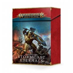 Warscroll Cards: Stormcast Eternals (Inglés)