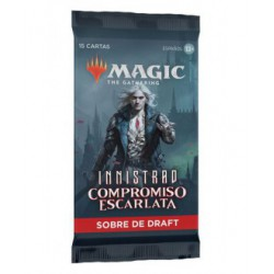 Magic the Gathering Innistrad: Crimson Vow Caja de Sobre de Draft (1) (Castellano)
