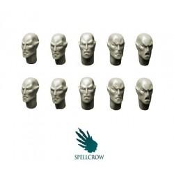 Space Elves Heads