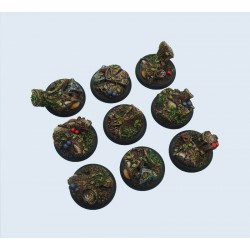 Forest Bases - WRound 30mm (5)