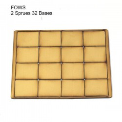 FOW Small Bases Tan (32)