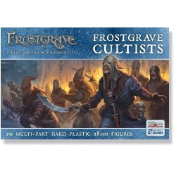 Frostgrave Cultists Plastic (20)