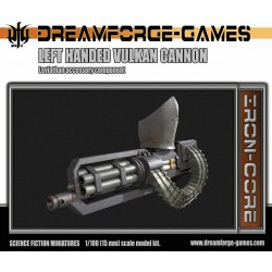 Leviathan Left Handed Vulkcan Cannon - 15mm Leviathan Accessory Weapon