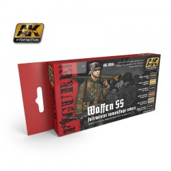 Waffen Ss Fall/winter Camouflage Colours