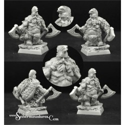 28mm/30mm Wild Warrior Dwarf Nº 3