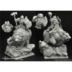 28mm/30mm Dwarf King Thorin on War Bear