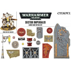 Sector Imperialis: Large Base Detail Kit (72)