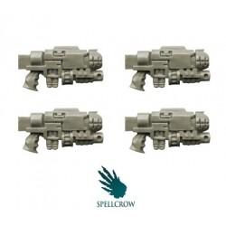Combined Gravity Guns