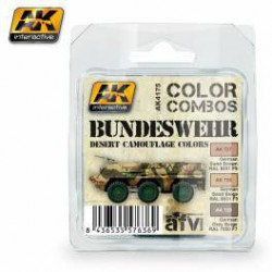 Bundeswehr Desert Camouflage Colors Combo