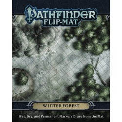 Winter Forest - Pathfinder Flip-Mat