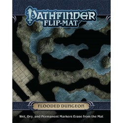Flooded Dungeon - Pathfinder Flip-Mat