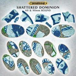 Shattered Dominion - 60 y 90mm Oval
