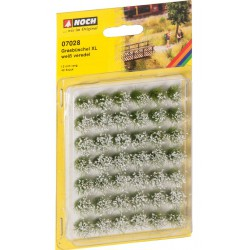 "Grass Tufts XL ""blooming"" White"