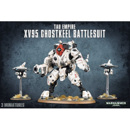 T'au Empire Xv95 Ghostkeel Battlesuit