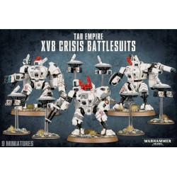 T'au Empire XV8 Crisis Battlesuits