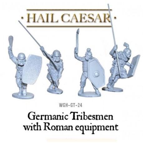 Germanic Tribesmen With Roman Equipment