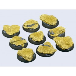 Shale Bases - WRound 30mm (5)