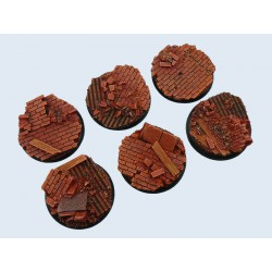 Old Factory Bases - Wround 40mm (2)
