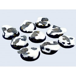 Winter Shale Bases - Wround 30mm (5)