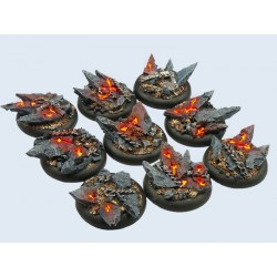 Chaos Bases - Wround 30mm (5)