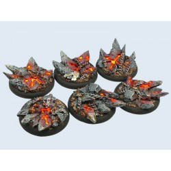 Chaos Bases - Wround 40mm (2)