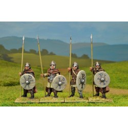 Romano British Armoured Spearmen