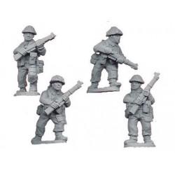 Late British Riflemen I (4)