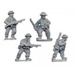 Late British Bren Gun Teams (4)