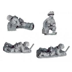 "Late British 2"" Mortar Teams (4)"