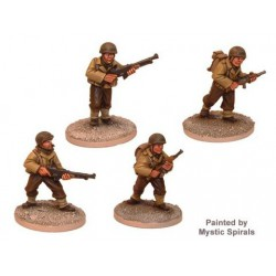 US Infantry Bar Teams (4)