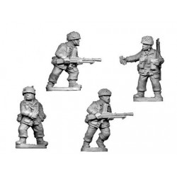 British Paratroopers Bren Teams