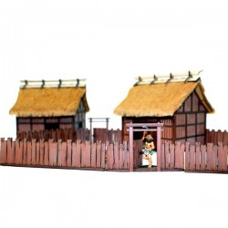 Village Wooden Gates (With Fences)